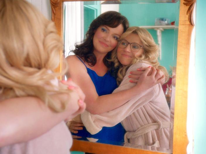 """Katherine Heigl and Sarah Chalke star as Tully and Kate in Netflix's """"Firefly Lane."""""""