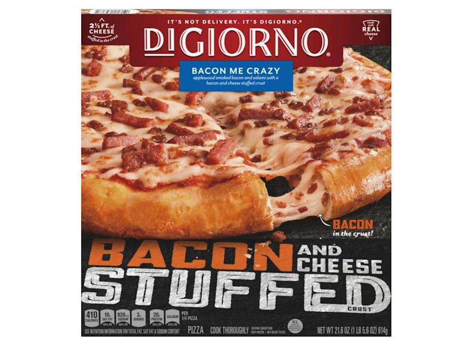 digiorno bacon me crazy pizza