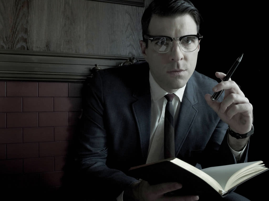"""Zachary Quinto as Dr. Oliver Thredson in """"American Horror Story: Asylum"""" on FX."""