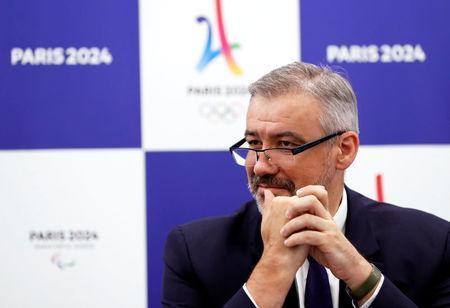 Etienne Thobois, Paris 2024 Director General, attends a ceremony marking conclusion of MoU between Tokyo 2020 and Paris 2024 Olympic Games in Tokyo, Japan, July 11, 2018. REUTERS/Kim Kyung-Hoon