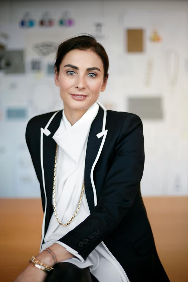 <strong>Francesca Amfitheatrof, Tiffany & Co.'s Design Director</strong>  Francesca Amfitheatrof joined Tiffany & Co. as its Designer Director in September 2013,but her career leading up to that wasalreadypretty prolific. Just to name a few things on her resume: jewelry collections for Chanel, Fendi,and Alice Temperley,jewelry and accessories for Marni, andjewelry and silverware for Asprey & Garrard. Now at the helm of one of the revered jewelers in the world,Amfitheatrof's modern sensibility is already proving to be a win for the heritage brand, particularly with the just launched Tiffany T collection, which she spearheaded.