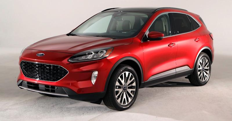 This March 25, 2019 photo shows the new Ford 2020 Escape in Warren, Mich.
