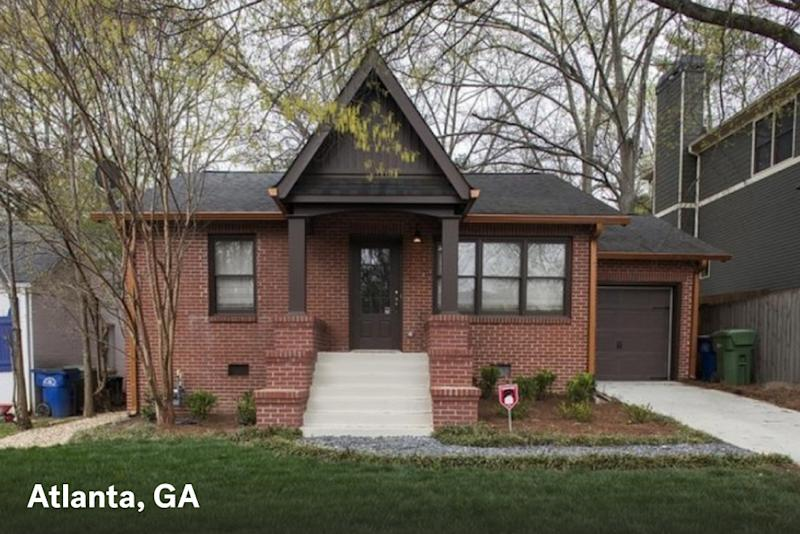 home for sale in atlanta ga with $1500 estimated mortgage payment