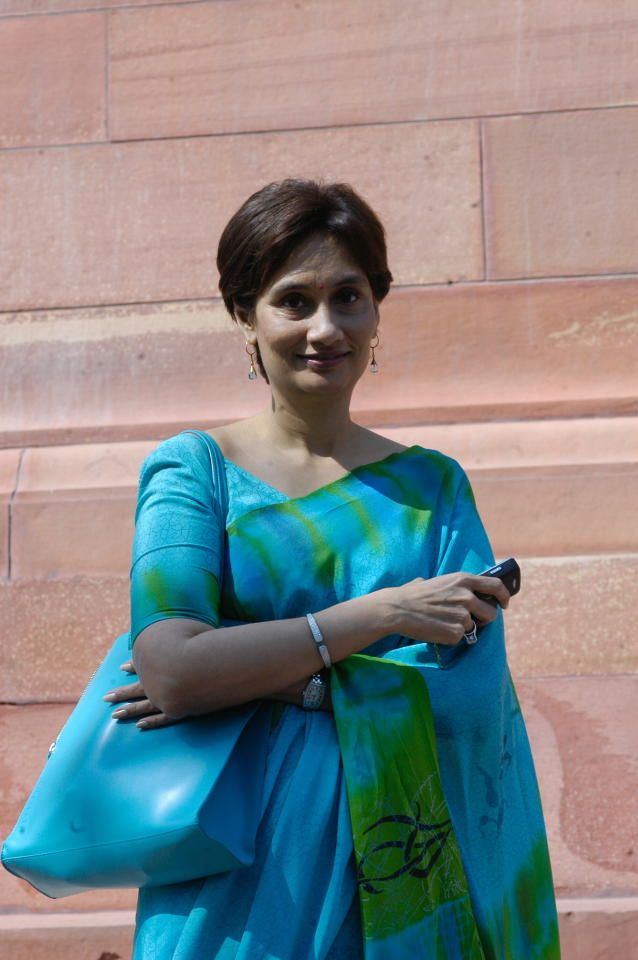 <p>Rank 92. HT Media Ltd chairperson and editorial director Shobhana Bhartia </p>