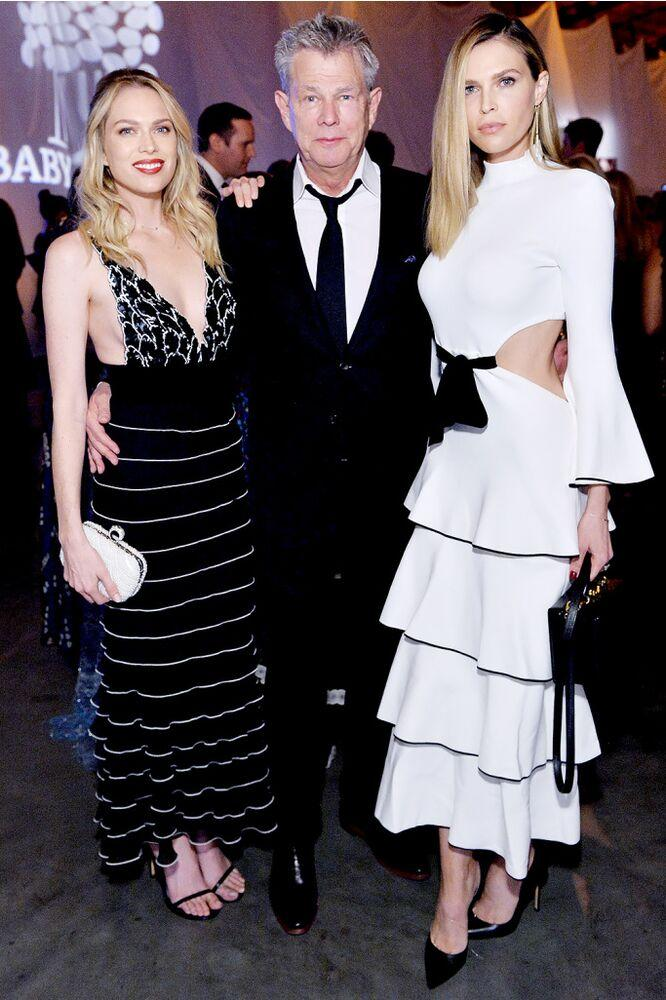 From L to R: Erin Foster, David Foster and Sara Foster | Stefanie Keenan/Getty