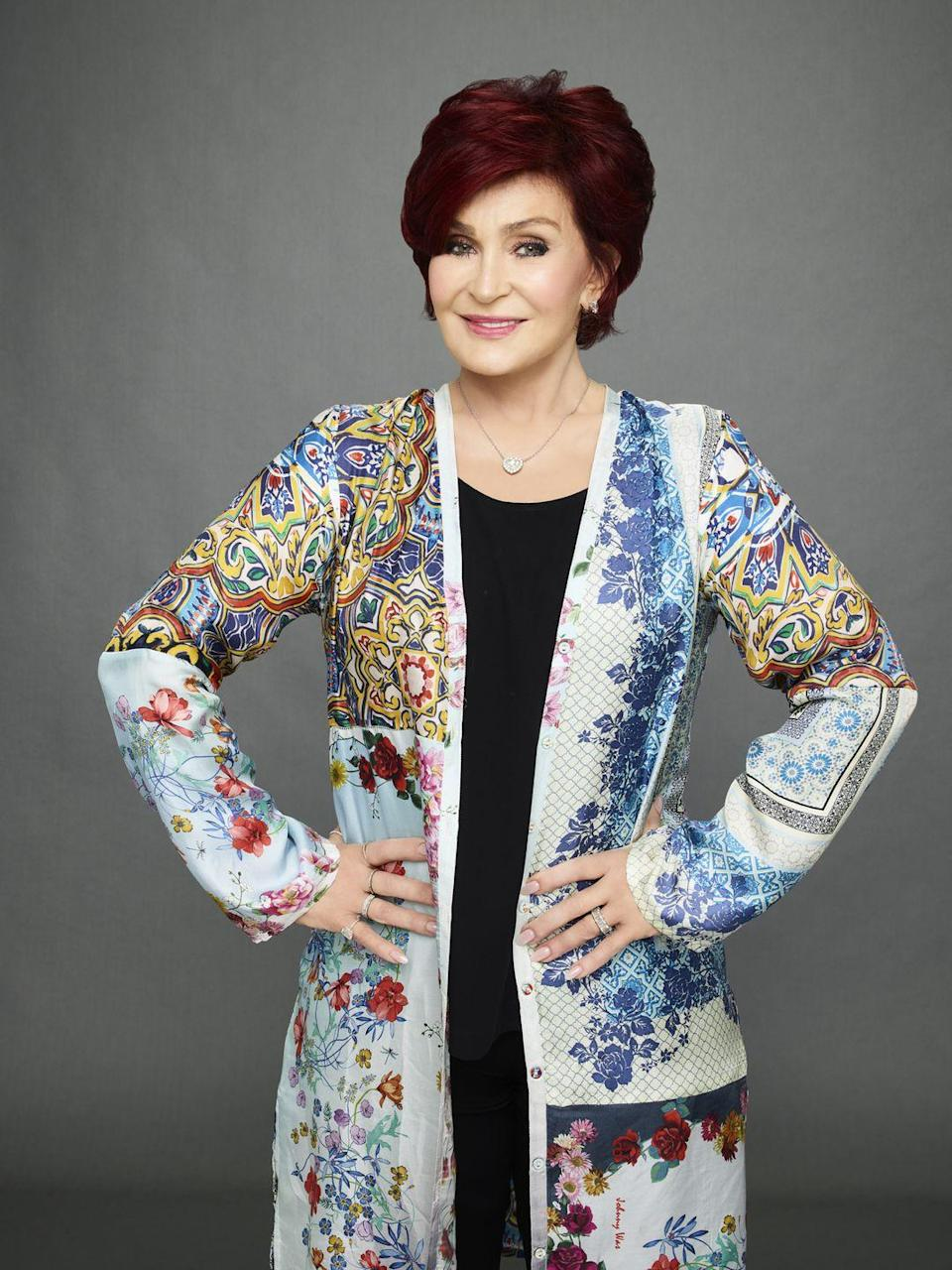 """<p>The Talk co-host Sharon Osbourne <a href=""""https://torontosun.com/2016/08/10/sharon-osbourne-on-plastic-surgery-ive-got-my-third-face/wcm/2672e8e2-a867-4435-a6de-d430b1d7e06e"""" rel=""""nofollow noopener"""" target=""""_blank"""" data-ylk=""""slk:admitted to being on her 'third face"""" class=""""link rapid-noclick-resp"""">admitted to being on her 'third face</a>' in 2016, though she hasn't always liked what she had done. 'And in a lot of shots, my face looks plastic and at certain angles, I was like, 'Oh, dear. Oh, I should never have done that. Oh, that's a bad one,' """" she said. """"So I'm like, 'No more. No more abuse. '</p>"""