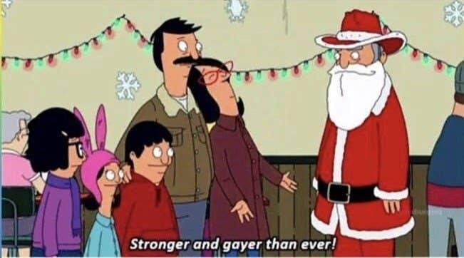 """Linda from """"Bob's Burgers"""" to Santa Clause: """"Stronger and gayer than ever"""""""