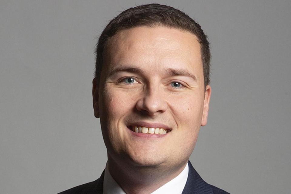 Labour's Streeting said it doesn't sound like education is a priorityWes Streeting's Office