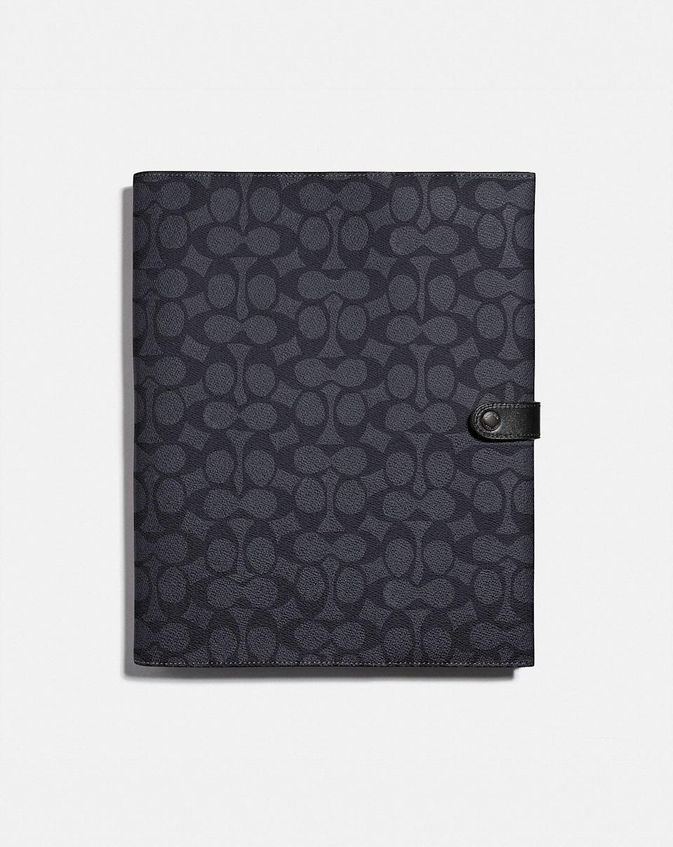 <p>Keep your tablet safe and secured with this sleek <span>Tech Portfolio</span> ($195).</p>