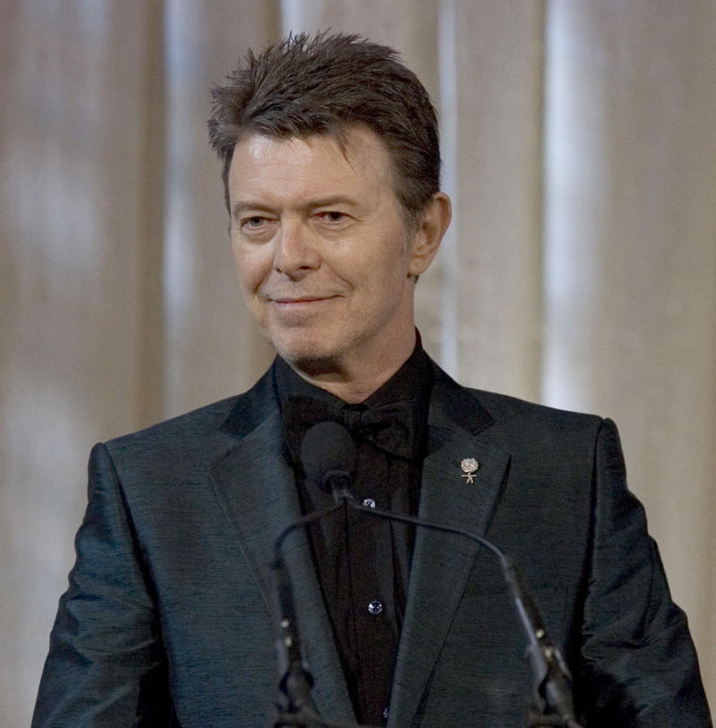 David Bowie readies 1st album in 10 years