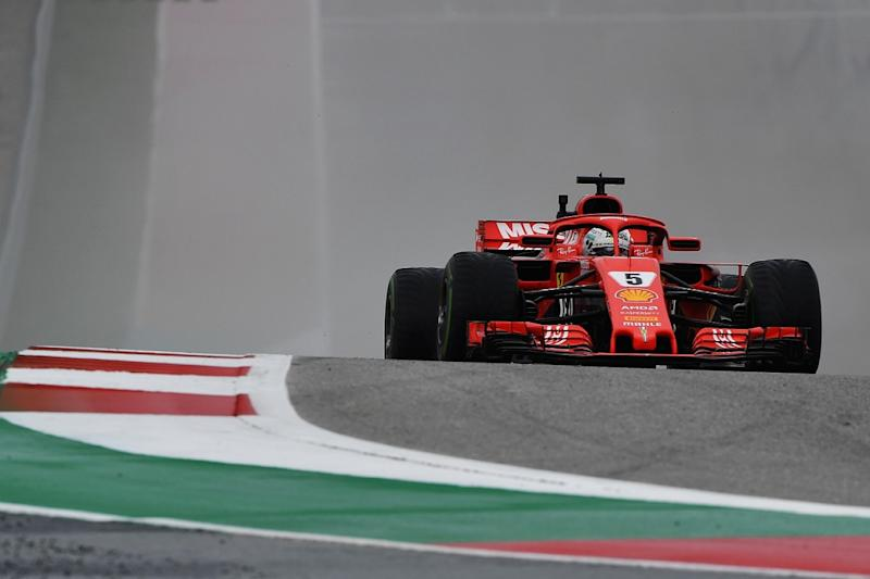 Vettel defended by rival for