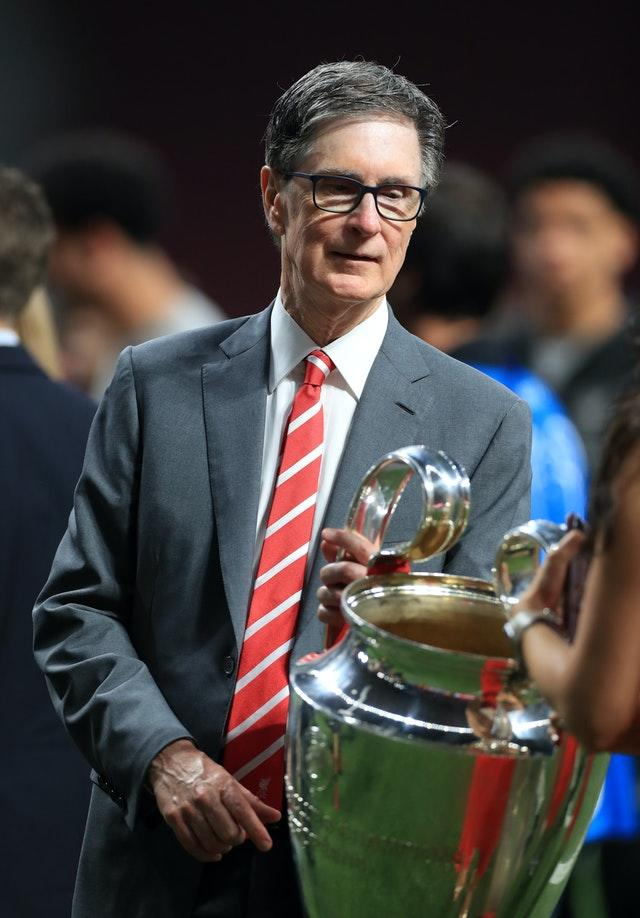 Liverpool, owned by John W Henry, are supporters of PBP