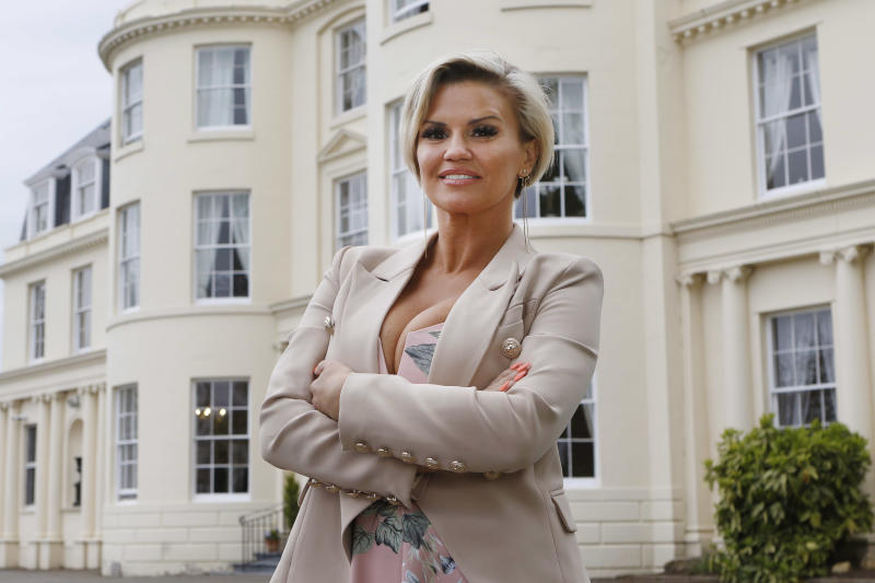 GLOUCESTER, UNITED KINGDOM - MAY 3: In this handout image provided by Hygrove House/Reward PR, Kerry Katona officially opens The Hygrove, a new and exclusive sanctuary where members can recover from drug and alcohol addictions in peace and luxury, on May 3, 2018 in Gloucester, England. (Photo by Antony Thompson for The Hygrove via Getty Images)