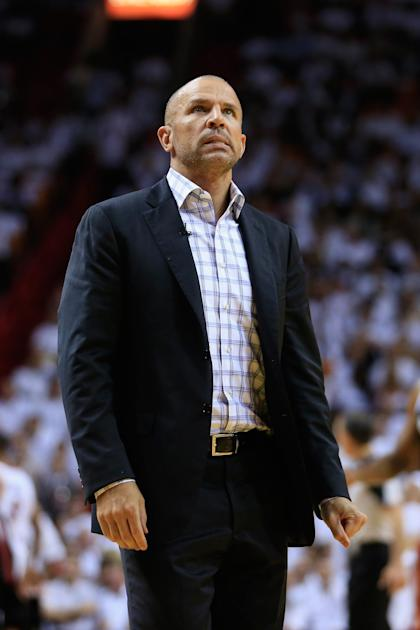 Jason Kidd helped guide the Nets into the second round of the playoffs. (Getty Images)