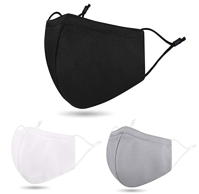 "<h2>Premium Reusable Face Masks</h2><br>Thin and breathable, Amazon's reusable face masks come in a variety of colors that work for every style aesthetic. <br><br><strong>young love</strong> Reusable Face Masks, $, available at <a href=""https://www.amazon.com/Premium-Summer-Reusable-Adjustable-C-overs/dp/B089F7PQLJ/ref=sr_1_19_sspa?"" rel=""nofollow noopener"" target=""_blank"" data-ylk=""slk:Amazon"" class=""link rapid-noclick-resp"">Amazon</a>"