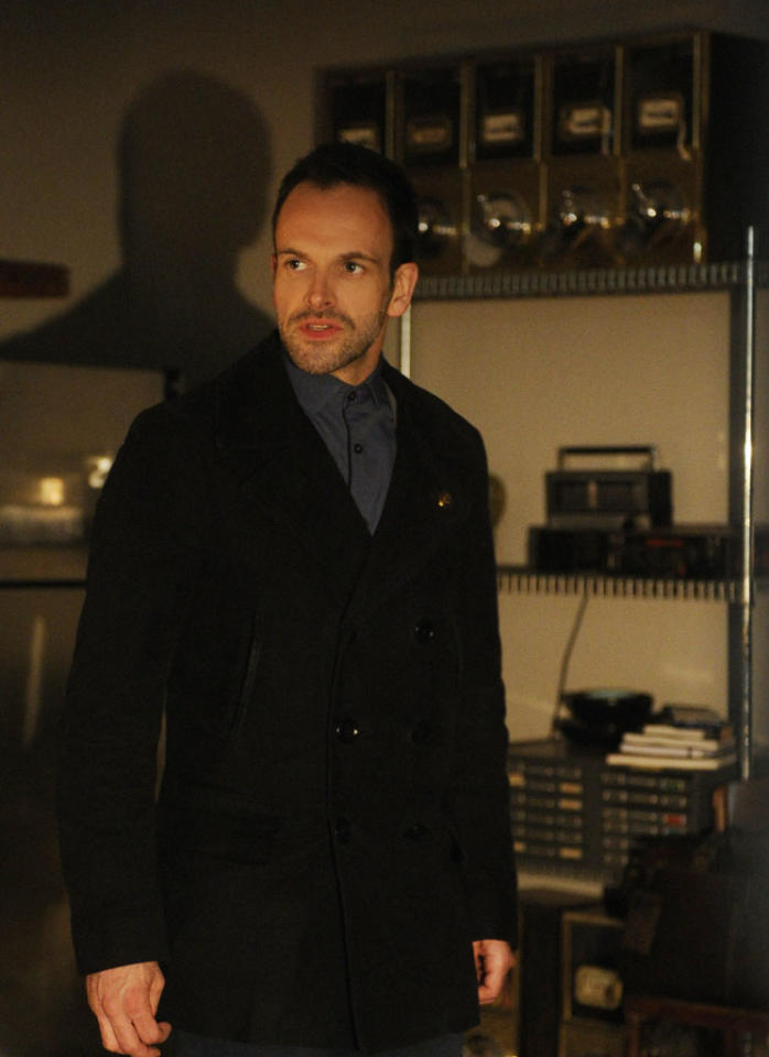 """The Woman"" - As Sherlock (Jonny Lee Miller) reels at the reappearance of his former lover, Irene Adler, a series of flashbacks unravel the tumultuous events that led to his downfall into addiction, on the two hour, first season finale of ""Elementary."""