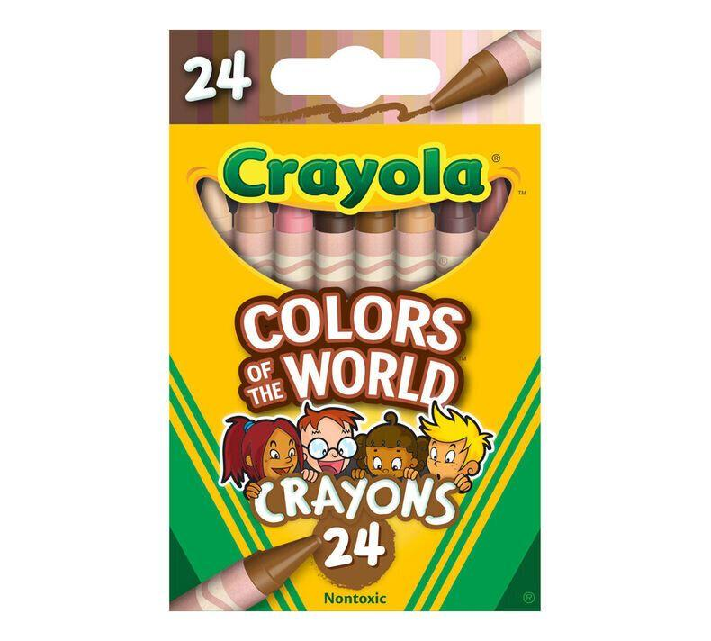 "Crayola announced its <a href=""https://www.crayola.com/worldcolors"" target=""_blank"" rel=""noopener noreferrer"">&ldquo;Colors of the World&rdquo;</a> skin tone crayons. (Photo: Crayola)"