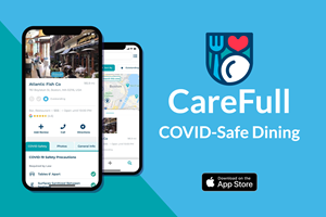 CareFull is the new COVID-Safe dining App for diners and restaurants.