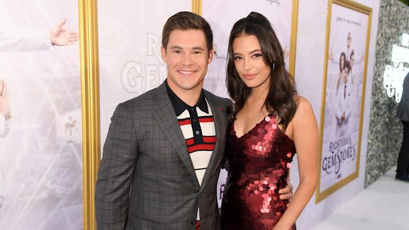 Adam Devine Engaged to Longtime Girlfriend Chloe Bridges