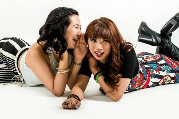 Amanda Joy, right, appears alongside her Second Jen co-star Samantha Wan. While the amount of positive representation of Asian actors is improving, Joy said it's still the minority.