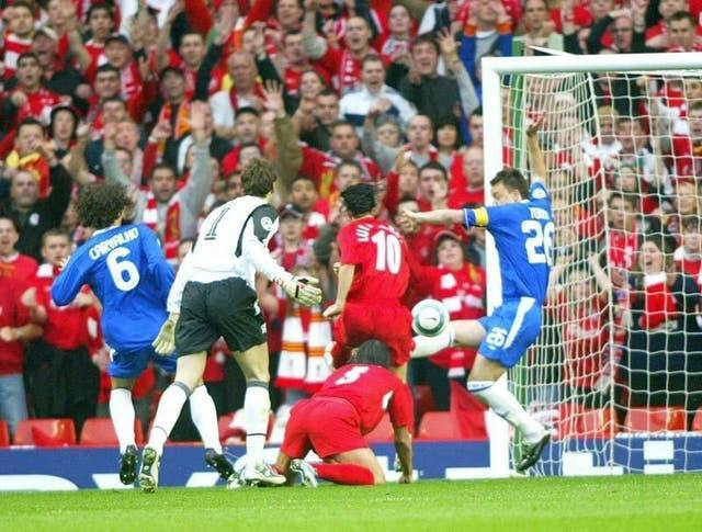 Soccer – UEFA Champions League – Semi-Final – Second Leg – Liverpool v Chelsea – Anfield