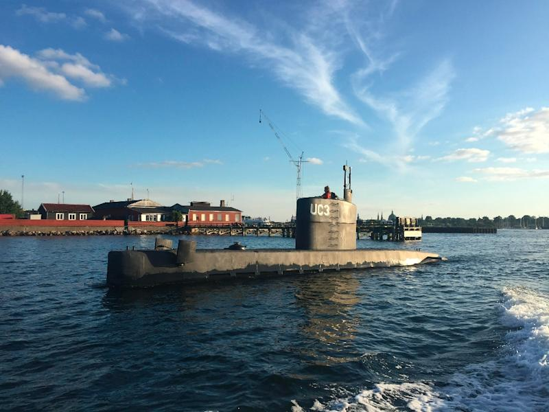 Peter Madsen has insisted that journalist Kim Wall died in an accident on board his 60-foot (18-metre) Nautilus submarineand that he later dumped her body at sea in Koge Bay near Copenhagen (AFP Photo/Anders Valdsted)