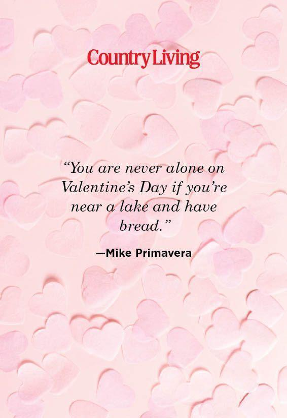 "<p>""You are never alone on Valentine's Day if you're near a lake and have bread.""</p>"