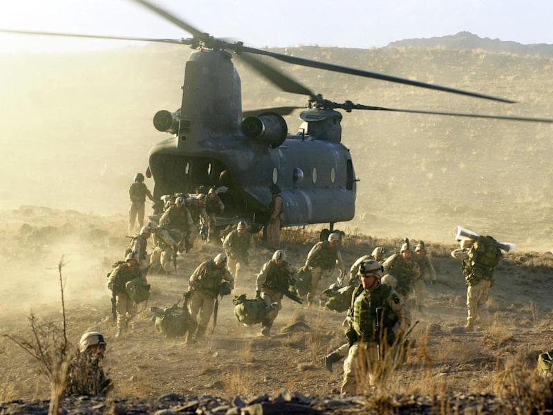 The US has lost over 2,300 troops in the course of the Afghan war: Getty