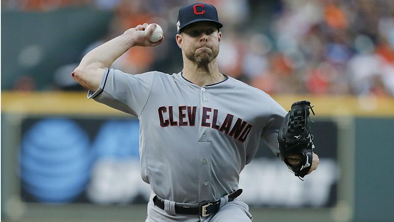 Indians ace Kluber out for at least two weeks