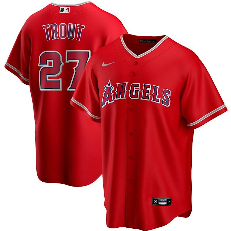 Trout Angels Alternate 2020 Player Jersey