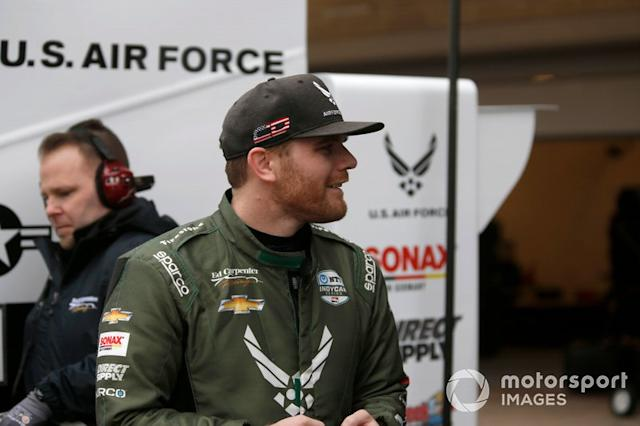 """Conor Daly, Ed Carpenter Racing Chevrolet (+ Carlin-Chevy for ovals) <span class=""""copyright"""">Phillip Abbott / Motorsport Images</span>"""