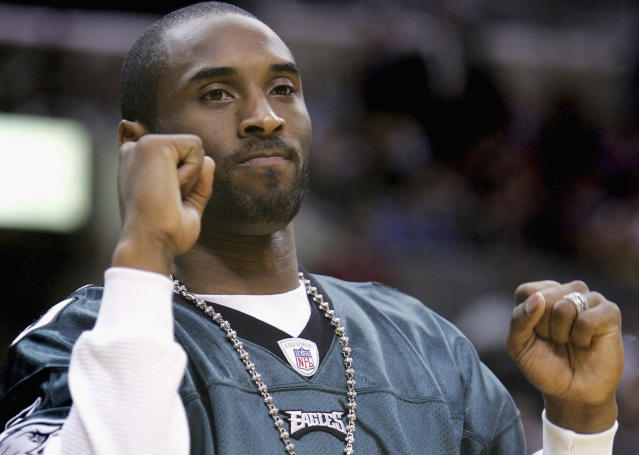 Kobe Bryant is a lifelong Eagles fan. (Getty Images photo)