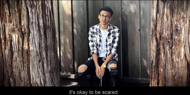 """Teens create """"A Cure For Humanity"""" short film to address fear surrounding racial injustice and the coronavirus. (Photo: YouTube)"""