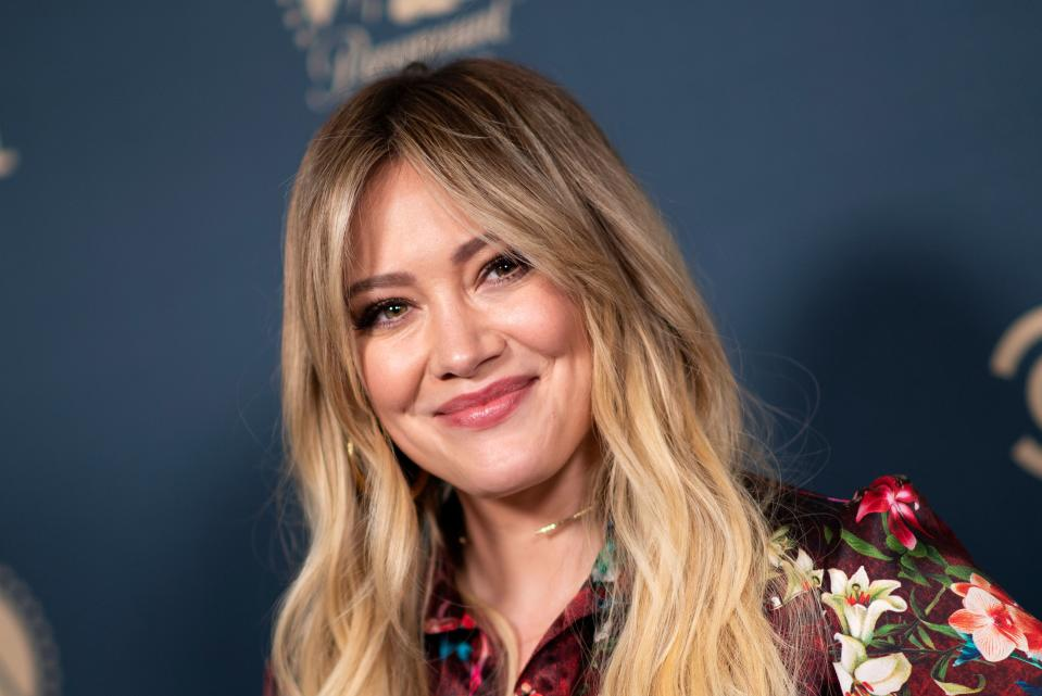 US actress Hilary Duff attends the first Comedy Central, Paramount Network and TV Land Press Day, on May 30, 2019 in Los Angeles, California. (Photo by VALERIE MACON / AFP)        (Photo credit should read VALERIE MACON/AFP via Getty Images)