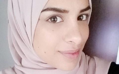 Farah Alhajeh, 24, was applying for a job as an interpreter when she declined to shake the hand of a male interviewer for religious reasons - Credit: BBC