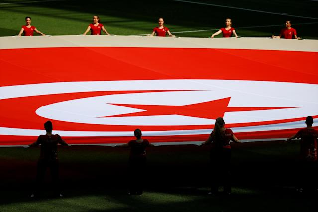 Soccer Football - World Cup - Group G - Belgium vs Tunisia - Spartak Stadium, Moscow, Russia - June 23, 2018 General view before the match REUTERS/Kai Pfaffenbach TPX IMAGES OF THE DAY