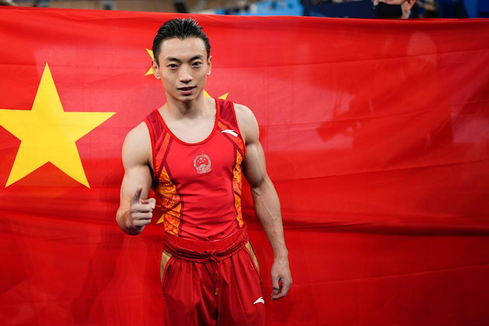 China's won more seven more gold medals than the United States, so China is winning the medal count. It's that simple. (Photo by Wei Zheng/CHINASPORTS/VCG via Getty Images)