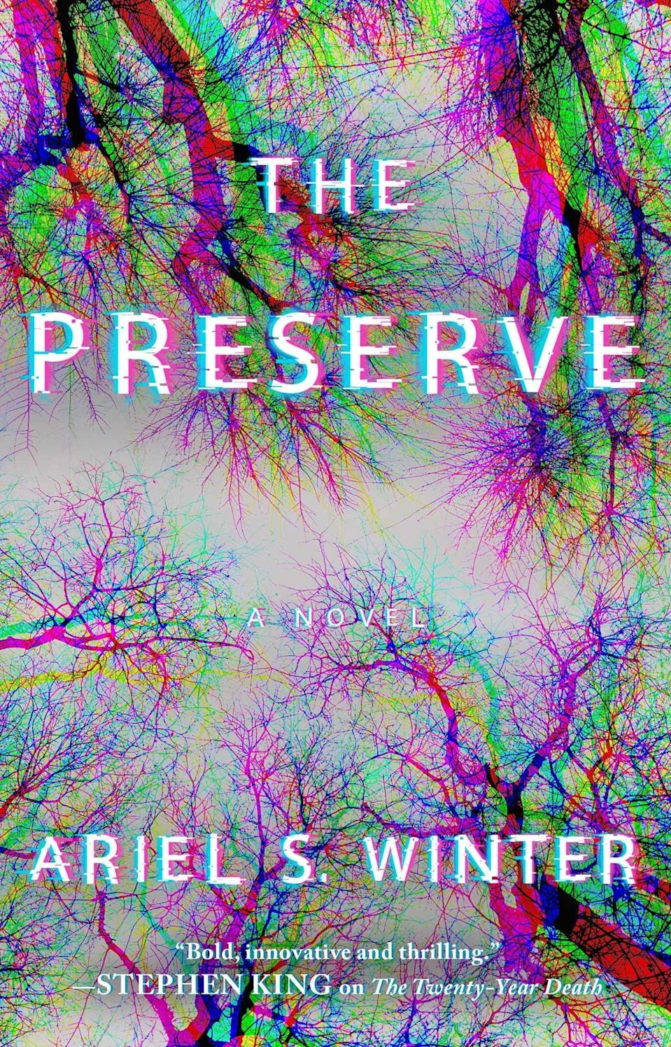<p>Full of smart commentary about the current state of America, Ariel S. Winter's <span><strong>The Preserve</strong></span> is set in a not-too-distant future after a plague led to a robot uprising. With robots now the ruling class, they set up preserves where humans can live without interference. But when a murder occurs on one of the preserves, Chief of Police Jesse Laughton will have to unravel a conspiracy if he wants to keep the robot government from shutting down the preserve experiment for good. </p> <p><em>Out Nov. 3</em></p>