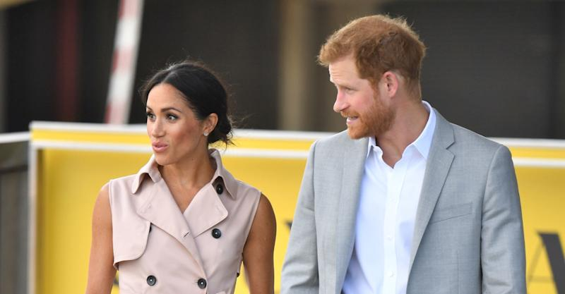 Prince Harry and Meghan Markle honour Nelson Mandela