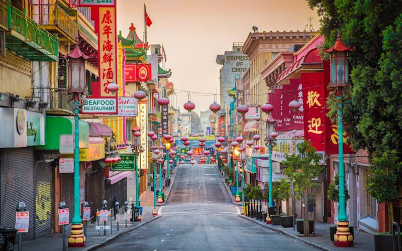 San Francisco's Chinatown – the oldest and most established in North America – is an excellent place to people watch - This content is subject to copyright.