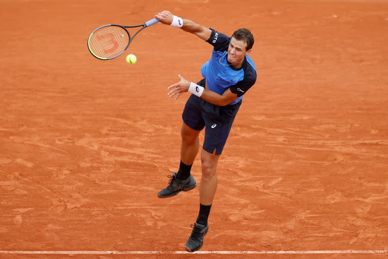 Pospisil criticises 'bad bubble' at French Open