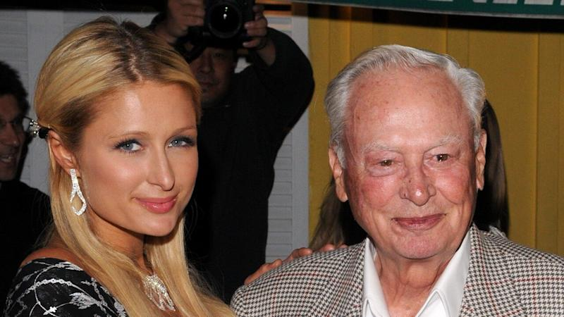 Paris Hilton Honors Late Grandfather Barron Hilton With Heartfelt Posts: 'I Looked Up to Him'