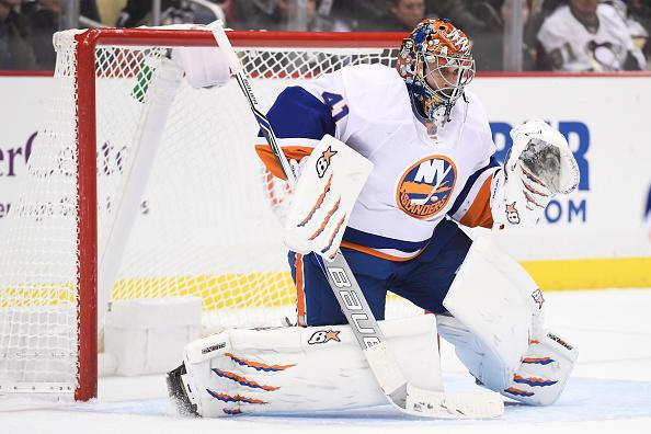 sports shoes b88f4 57a37 NHL agent calls out Islanders' handling of goaltenders