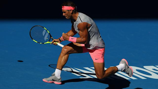 World number one Rafael Nadal claimed another straightforward win at the Australian Open, beating Leonardo Mayer.