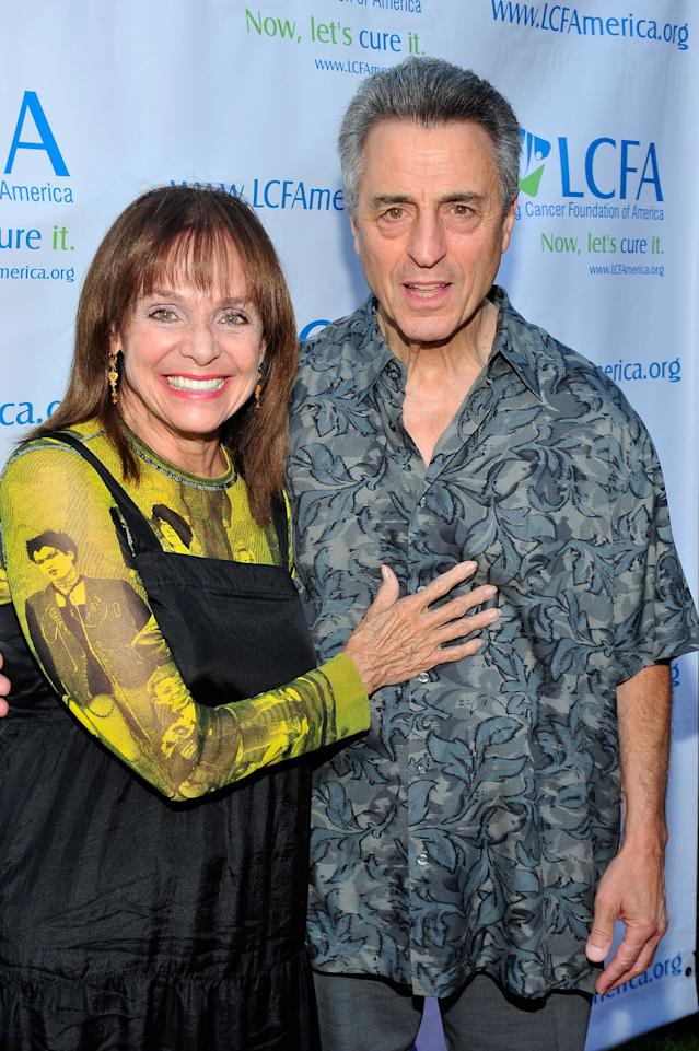 Valerie Harper and husband Tony Cacciotti in 2013. (Photo: Jerod Harris/WireImage)