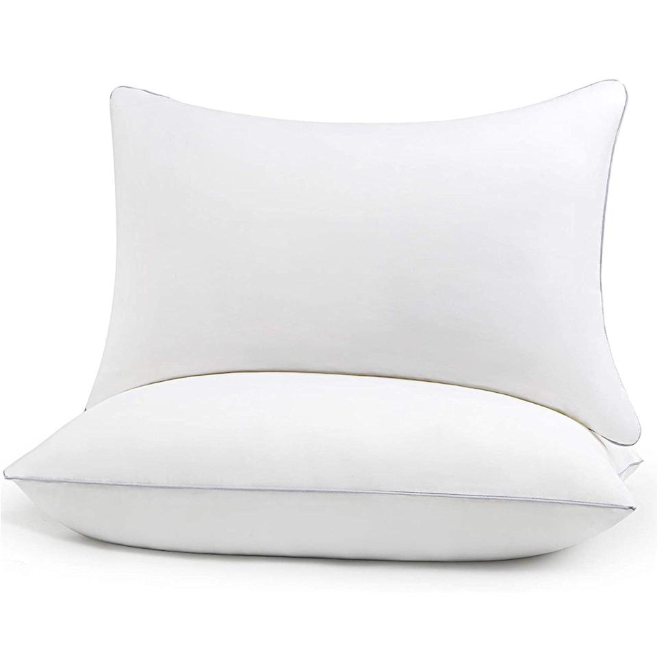HIMOON bed pillows for sleeping 2-pack