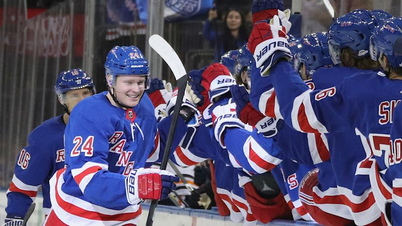 New York Rangers' Kaapo Kakko nets first NHL goal — and it's a beauty