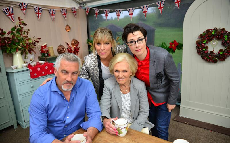 The original line up featured Paul Hollywood, Mel Giedroyc, Mary Berry, Sue Perkins - Credit: Love Productions