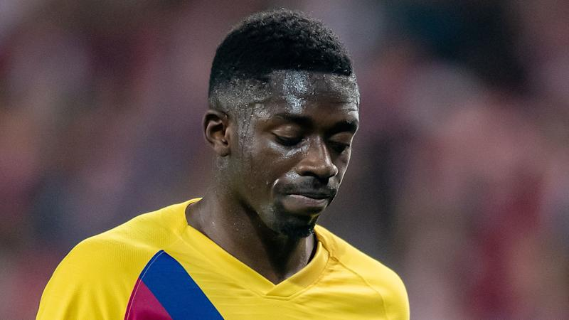 Dembele's season over as Barcelona star ruled out for six months after surgery