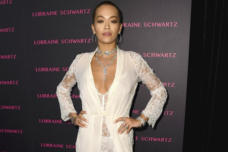 5a35c6f4aa58 Rita Ora Turned Heads With a See-Through Nightgown